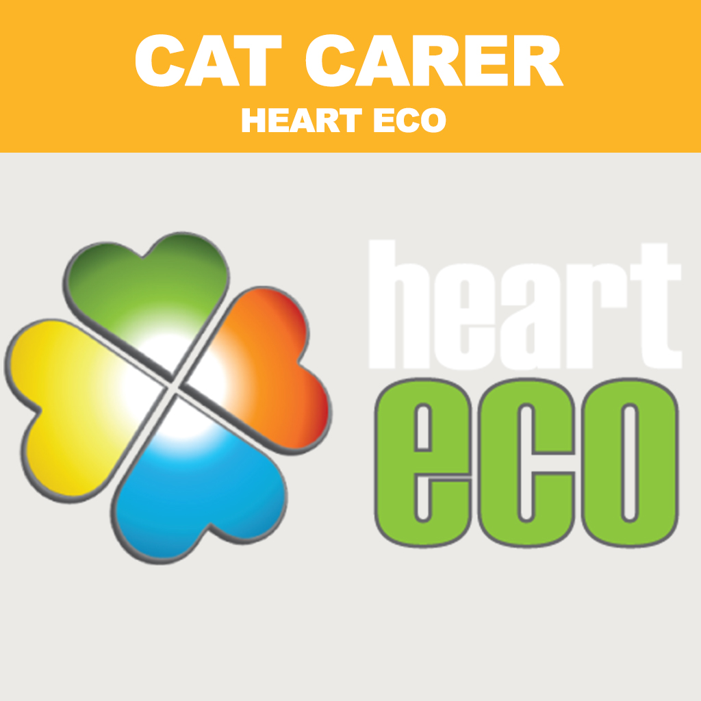 cat carer heart eco